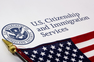 Naturalization and Citizenship - U.S. Department of Homeland Security Logo